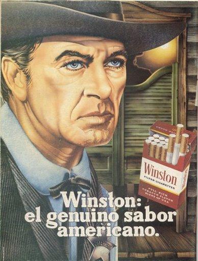 Historia de la publicidad: 1981 Winston