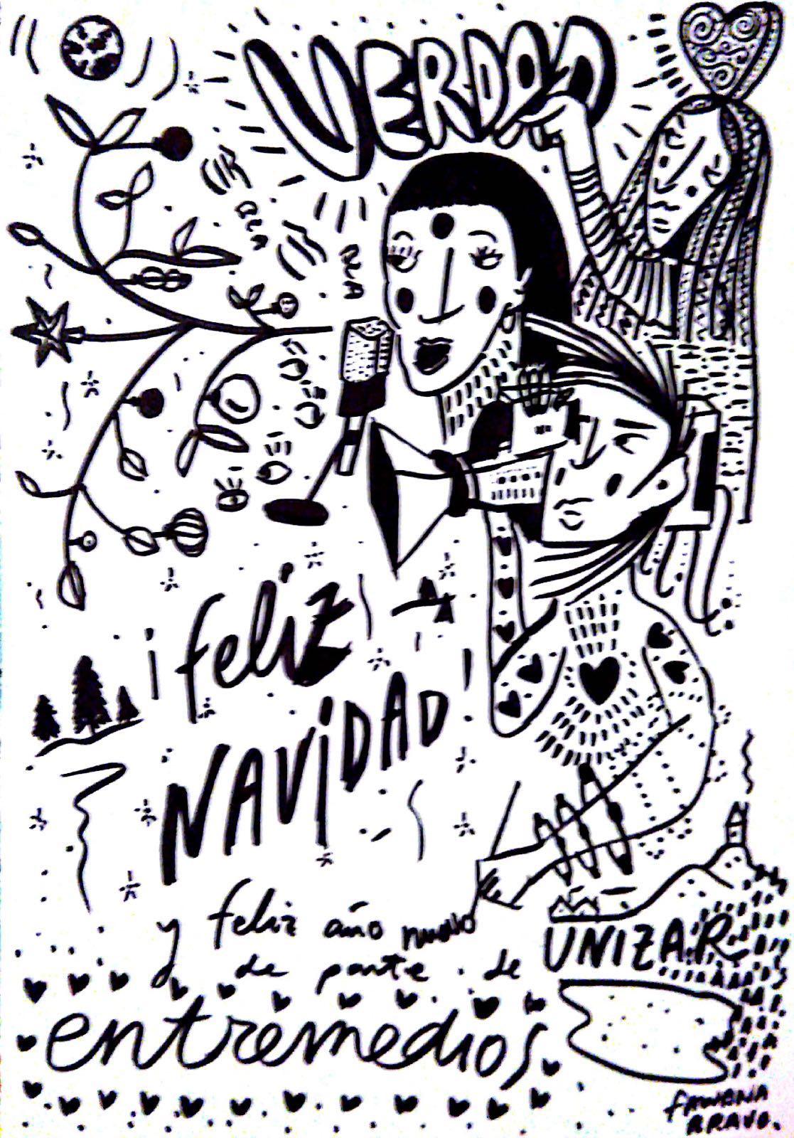 Felicitación navideña de Entremedios 2017
