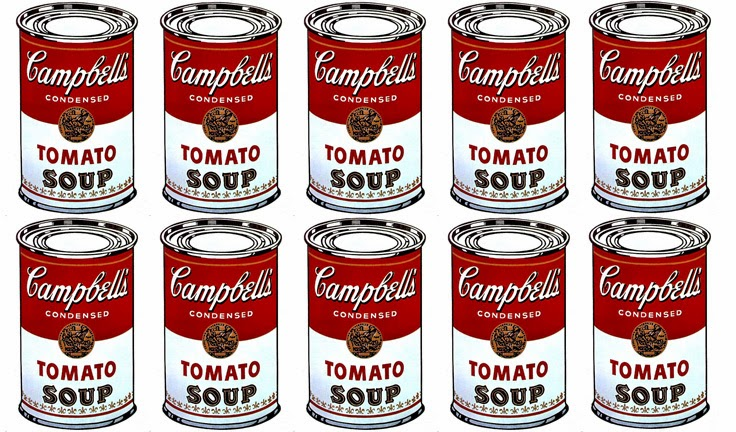 Latas de sopa Campbell, Andy Warhol. 1983