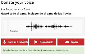 Donar voz