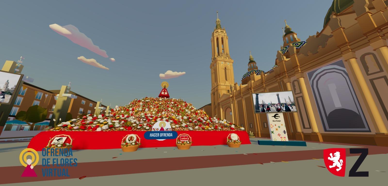Ofrenda virtual Fiestas del Pilar de Zaragoza, 2020